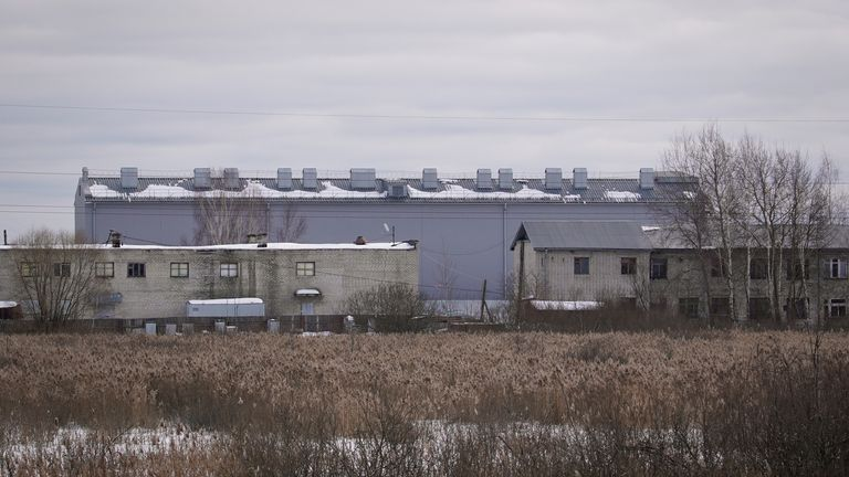 Établissement correctionnel n ° 2 (IK-2) dans la ville de Pokrov