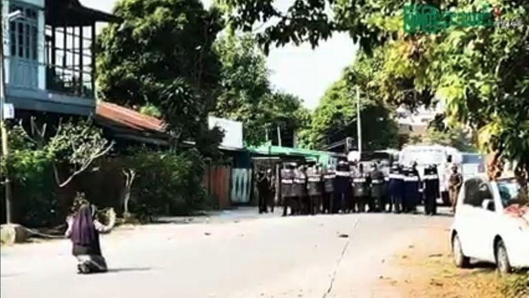 Sœur Ann Roza Nu Tawng.  Pic: Journal de nouvelles de Myitkyiana