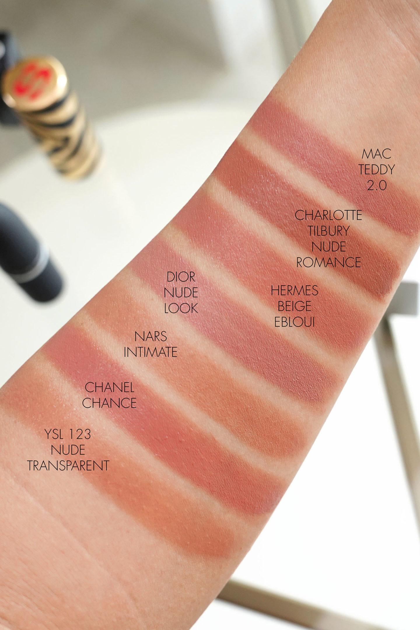 Meilleurs rouges à lèvres beiges neutres pour les échantillons de printemps