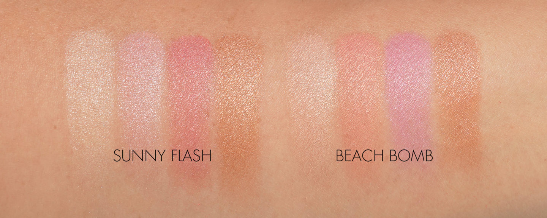 Par Terry Brightening CC Palette Sunny Flash vs Beach Bomb