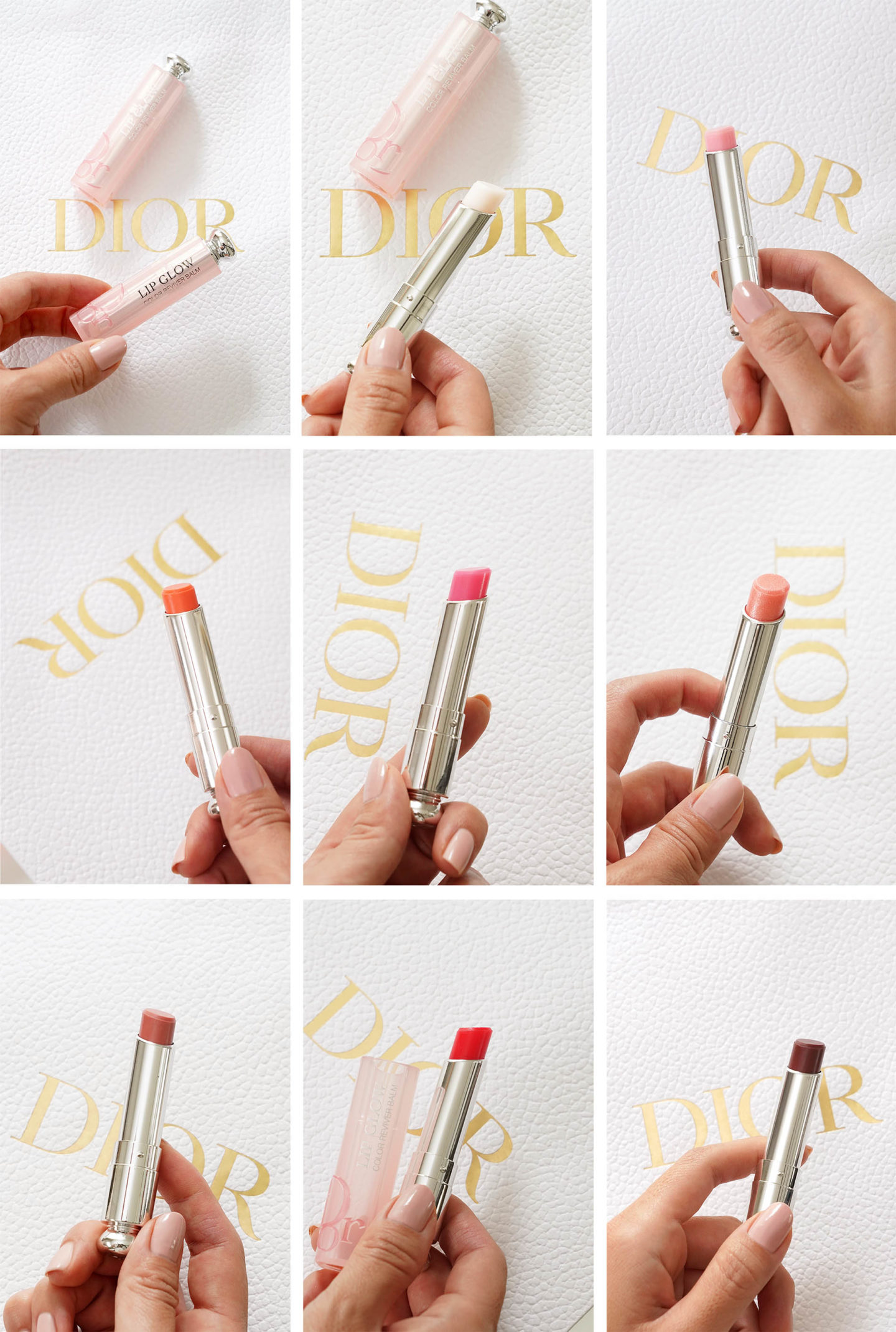 Dior Lip Glow |  Look Book Beauté