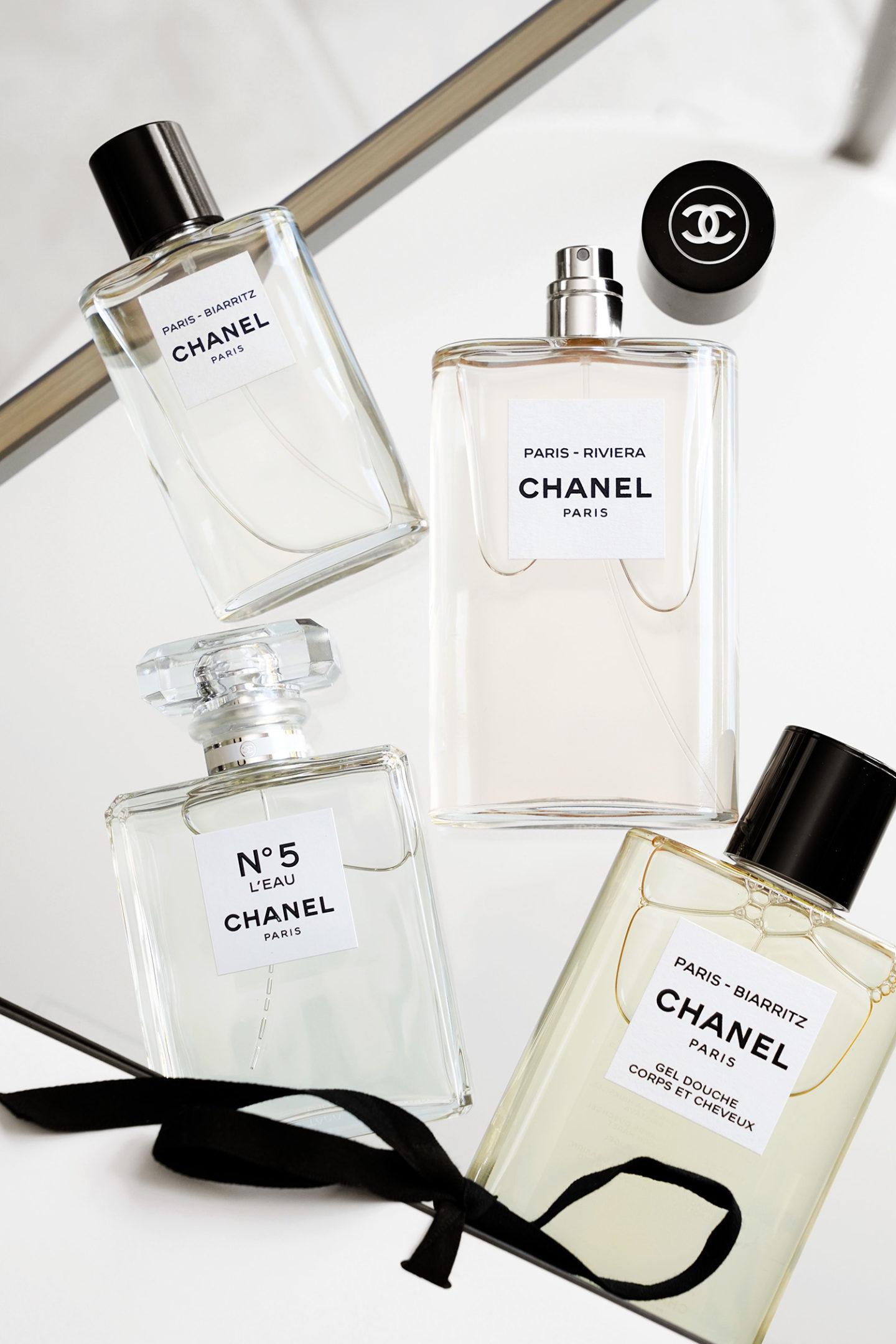 Meilleurs Parfums Chanel Les Eaux de Chanel et No5 L'Eau