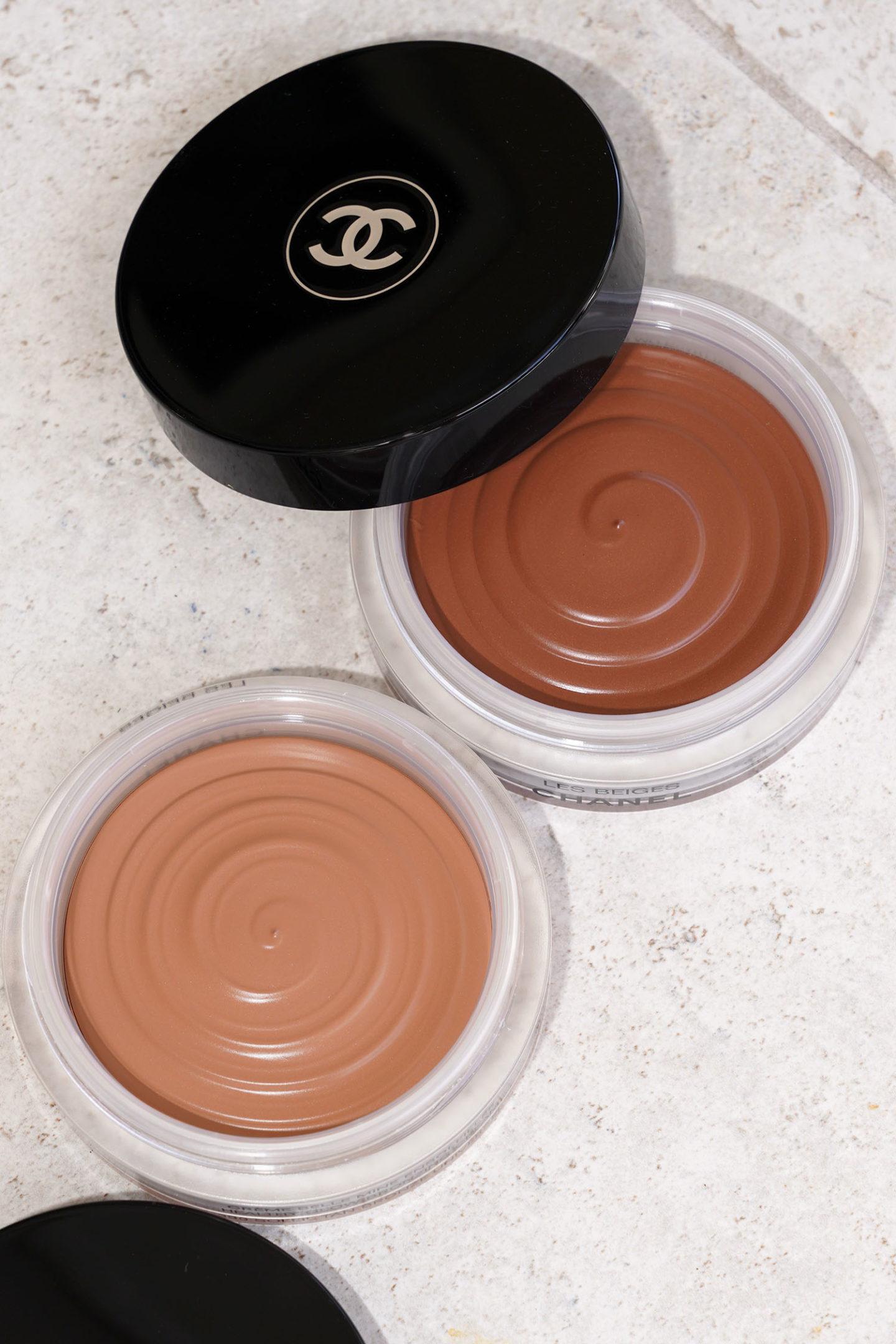 Les Beiges Healthy Glow Bronzing Cream en 390 vs 395
