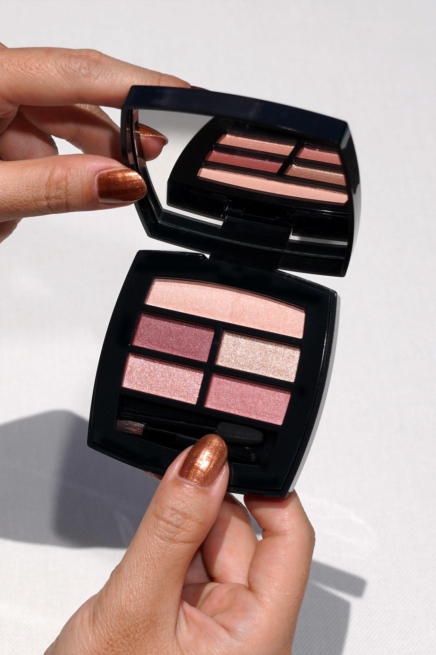 Palette d'ombres à paupières naturelles Chanel Les Beiges Healthy Glow in Tender
