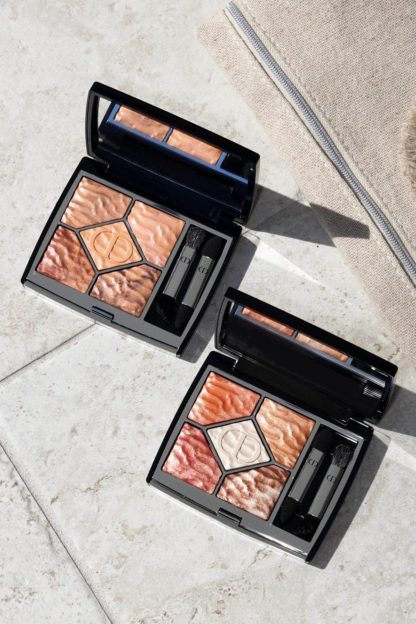 Palettes de fards à paupières Dior 5 Couleurs Couture Collection Summer Dune
