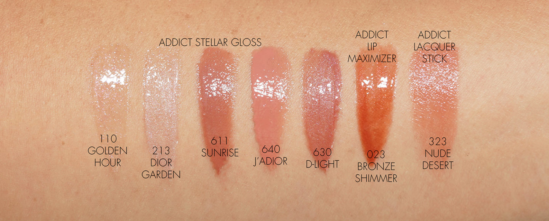 Échantillons de lèvres Dior Summer Dune