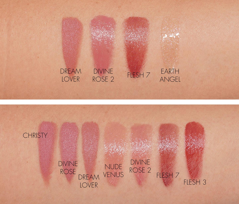 Échantillons de lèvres de Pat McGrath