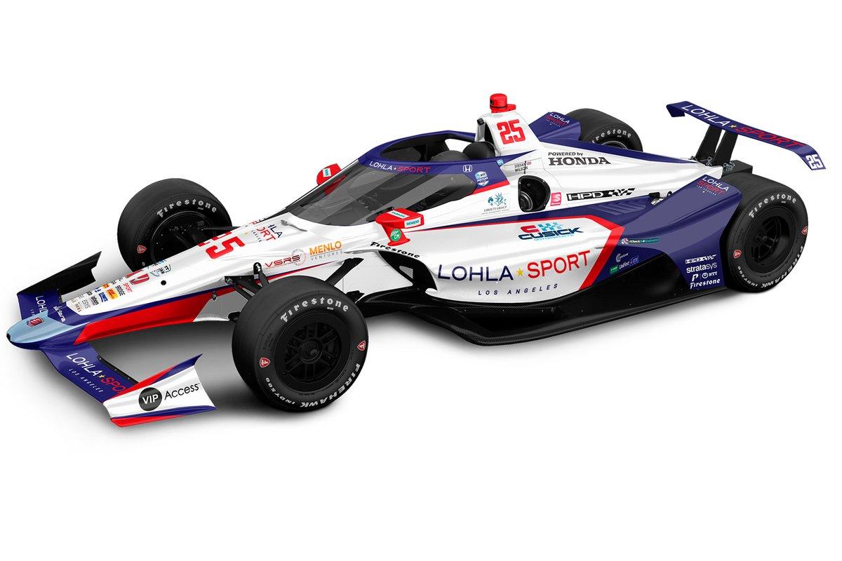 Andretti Autosport-Honda de Stefan Wilson pour la 105e édition de l'Indianapolis 500