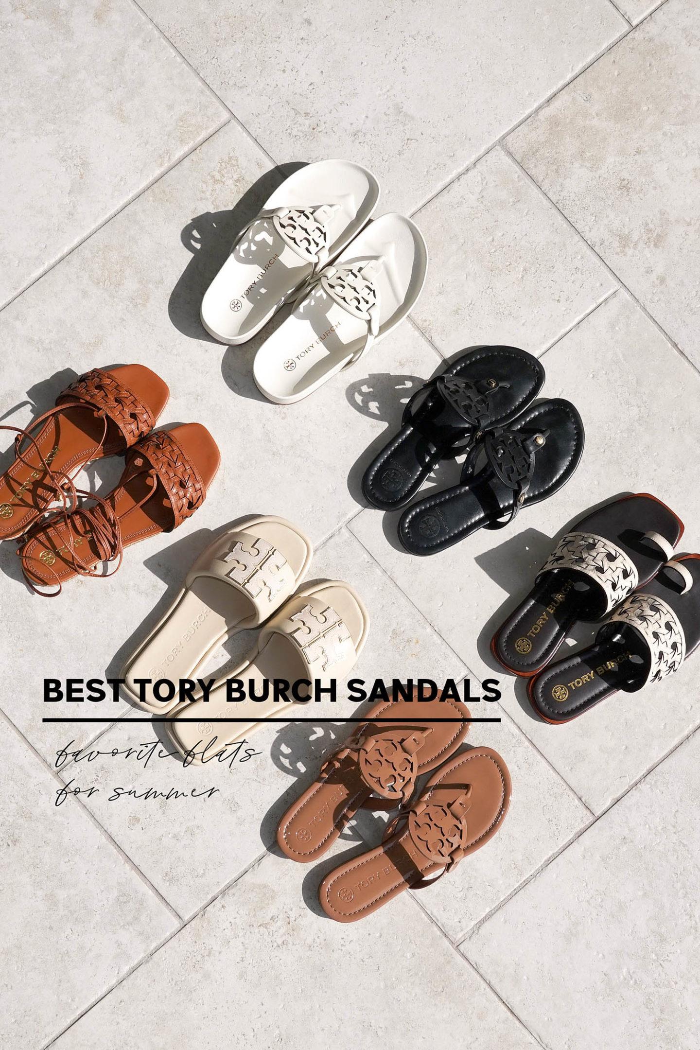 Meilleures sandales Tory Burch    Le Lookbook Beauté
