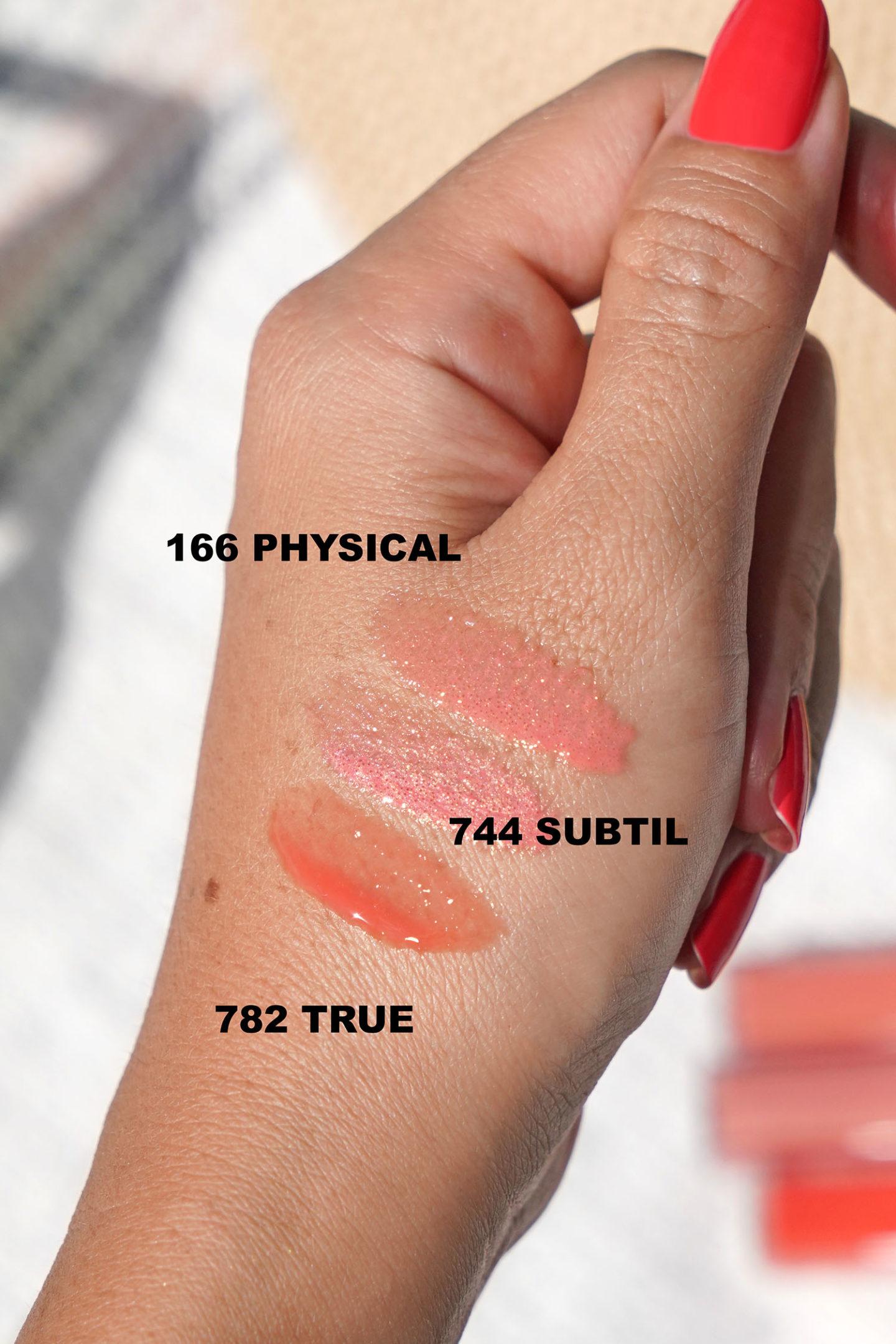 Chanel Rouge Coco Gloss en Physique, Subtil et Vrai