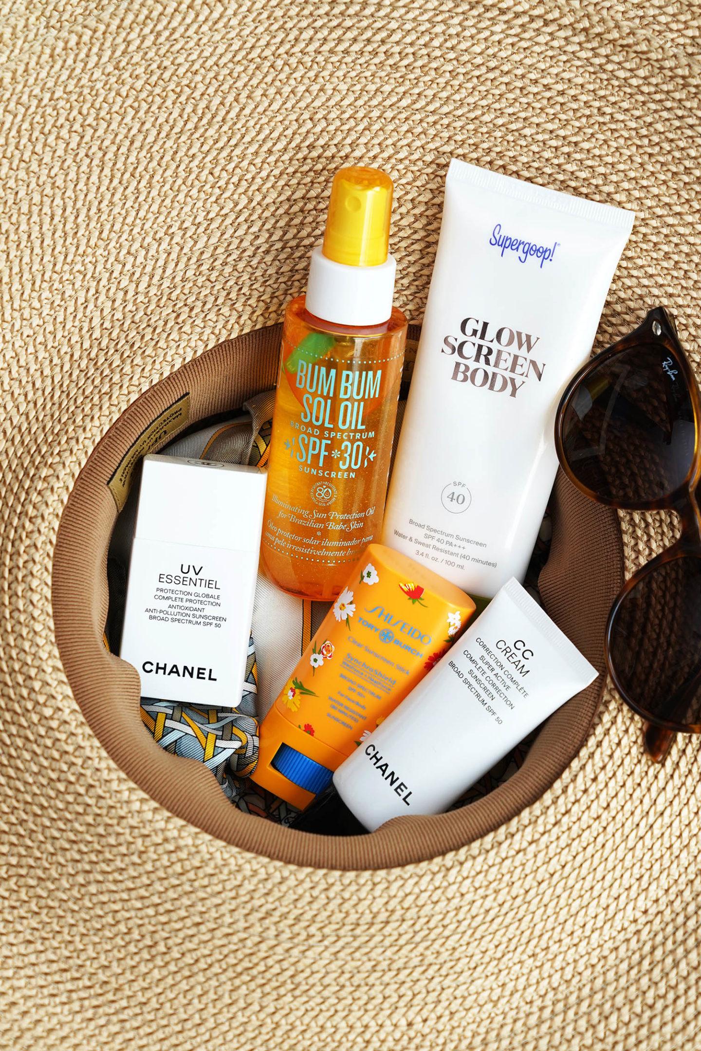 Meilleurs écrans solaires d'été Shiseido, Supergoop!  Sun Bum, Sol de Janeiro