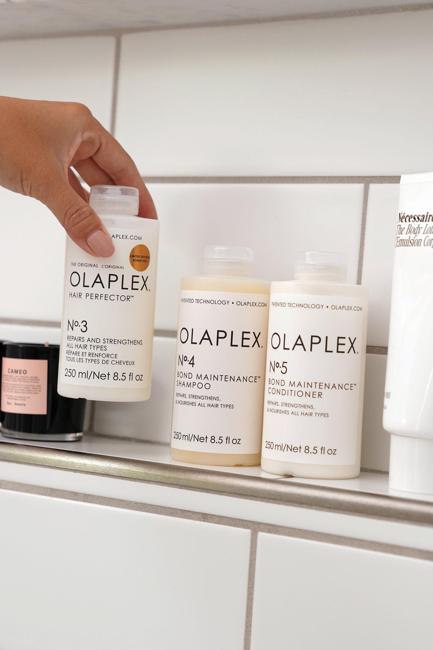 Ensemble de soins capillaires d'entretien Olaplex Bond