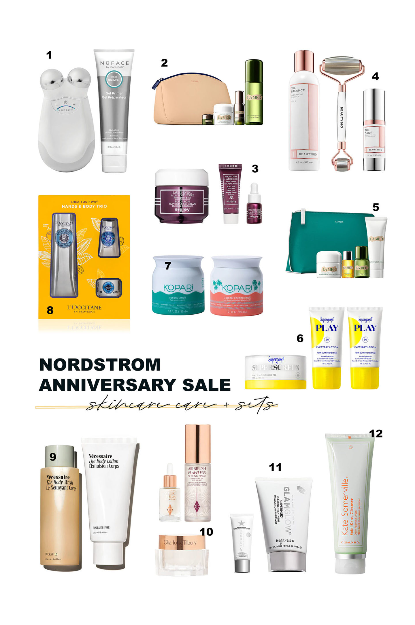 Nordstrom Anniversary Sale 2021 Beauty Exclusives Skincare