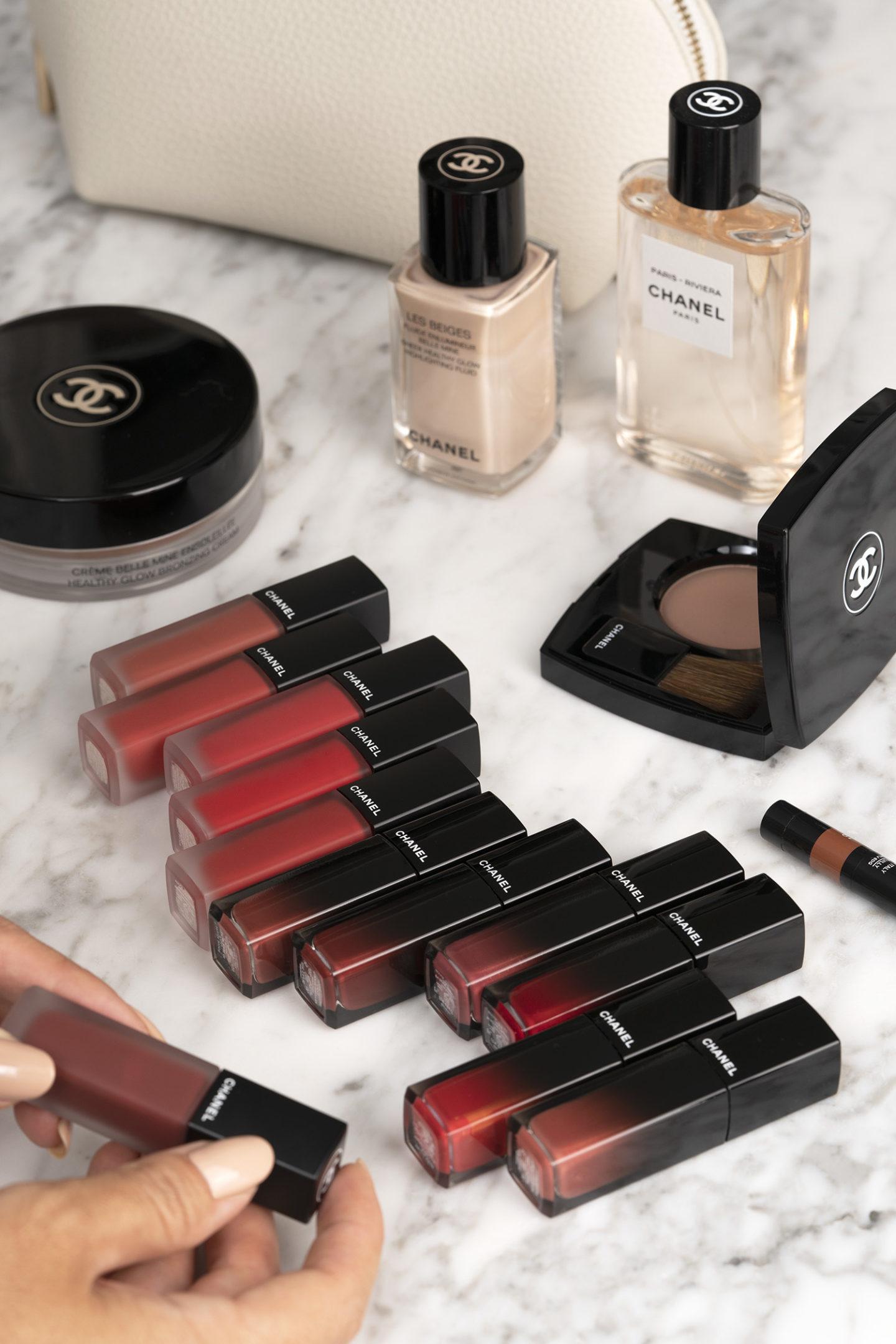 Nouvelles nuances Chanel Rouge Allure Laque et Ink Fusion Review Swatches