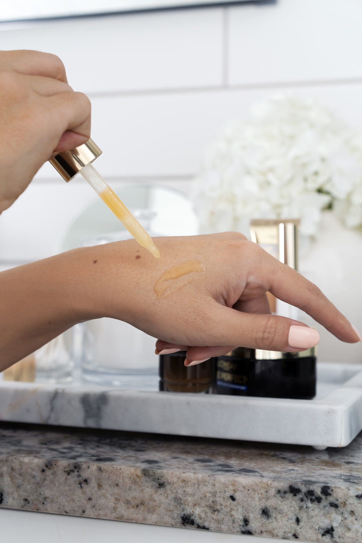 L'Oréal Age Perfect Cell Renewal Midnight Serum examen de la routine de nuit