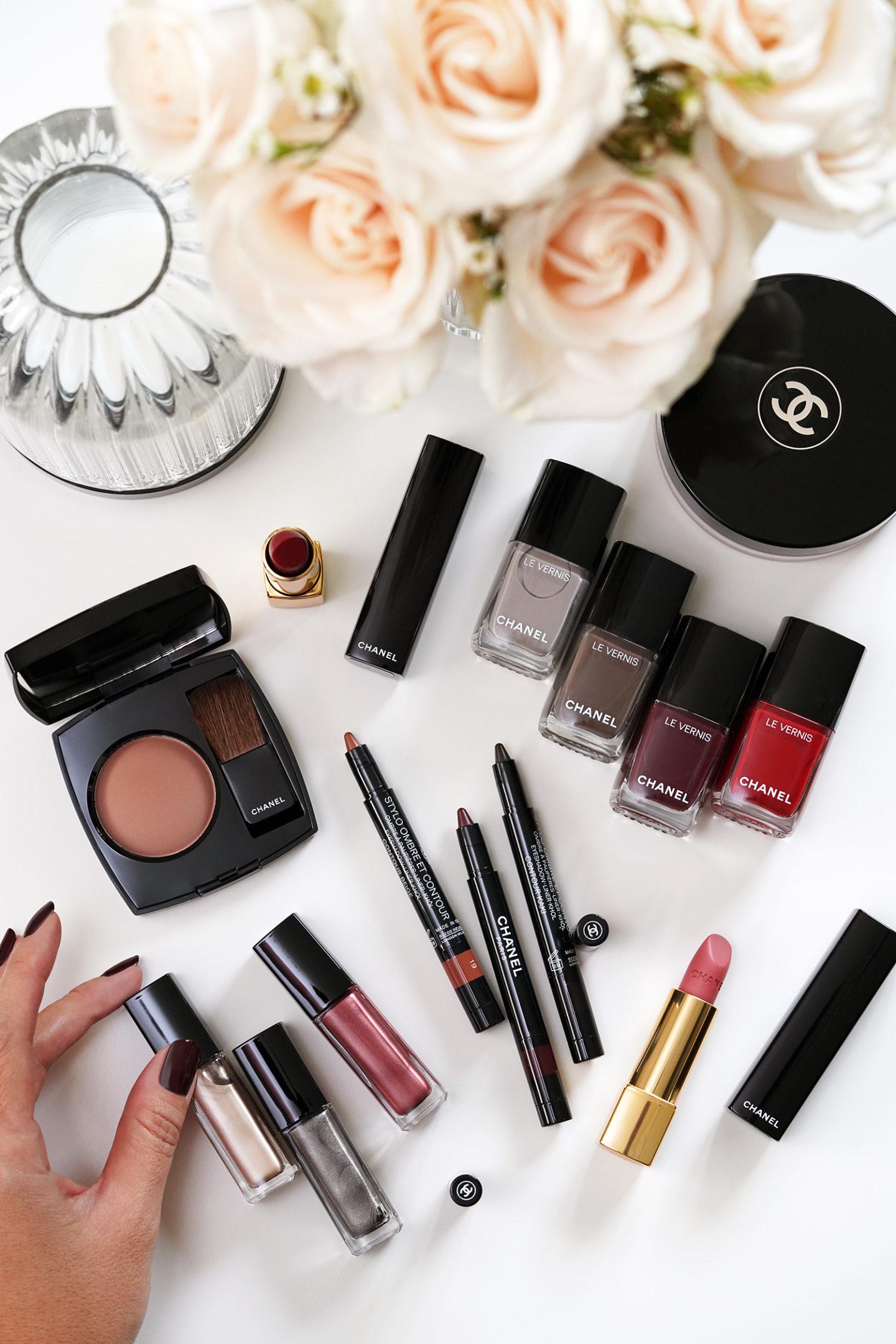Revue de la collection de maquillage Chanel automne-hiver 2021