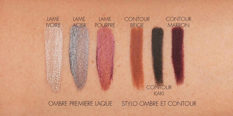 Échantillons de maquillage pour les yeux Chanel Automne Hiver 2021