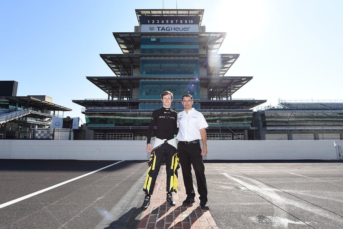 Callum Ilott, Juncos Hollinger Racing avec Ricardo Juncos