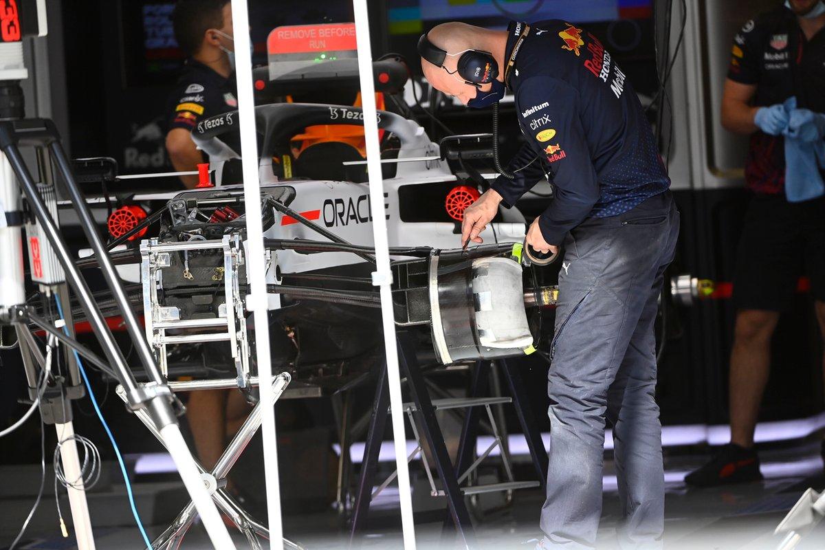 Détail de la Red Bull Racing RB16B