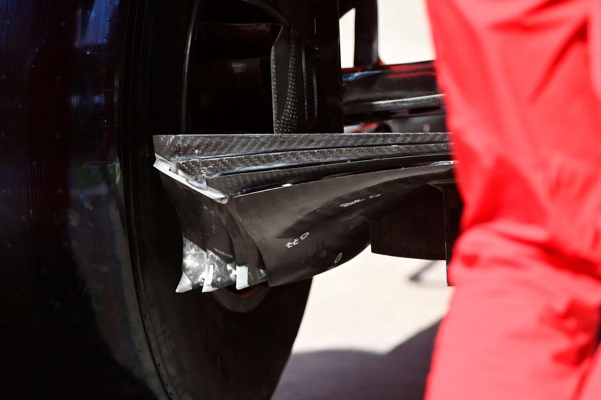 Détail de la Ferrari SF21