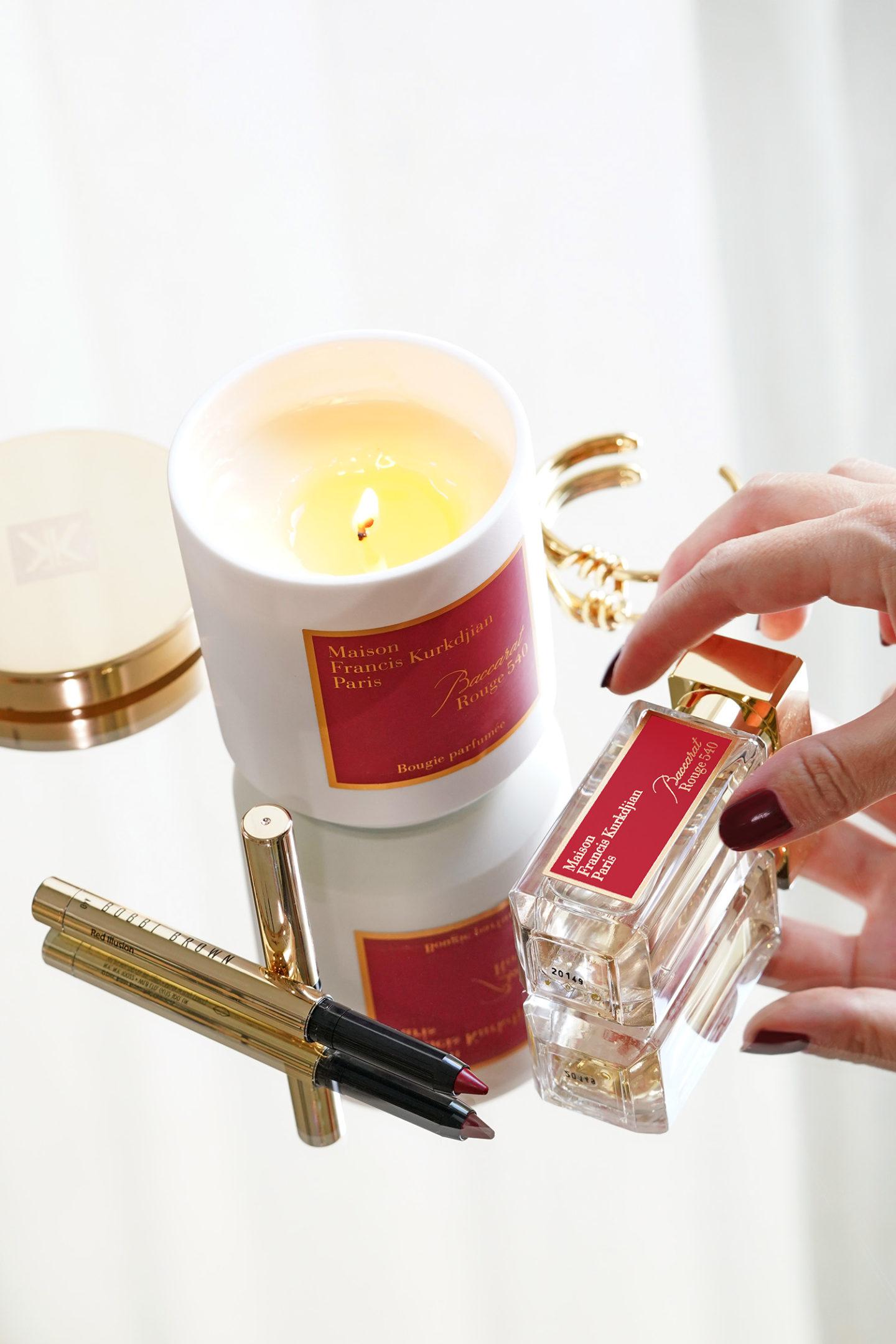 Bougie Parfumée Baccarat Rouge 540 Maison Francis Kurkdjian
