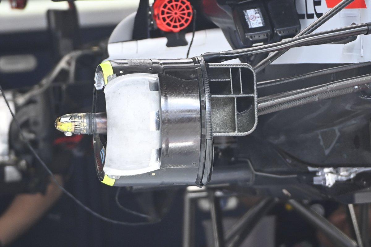 Détail du tambour de frein Red Bull Racing RB16B