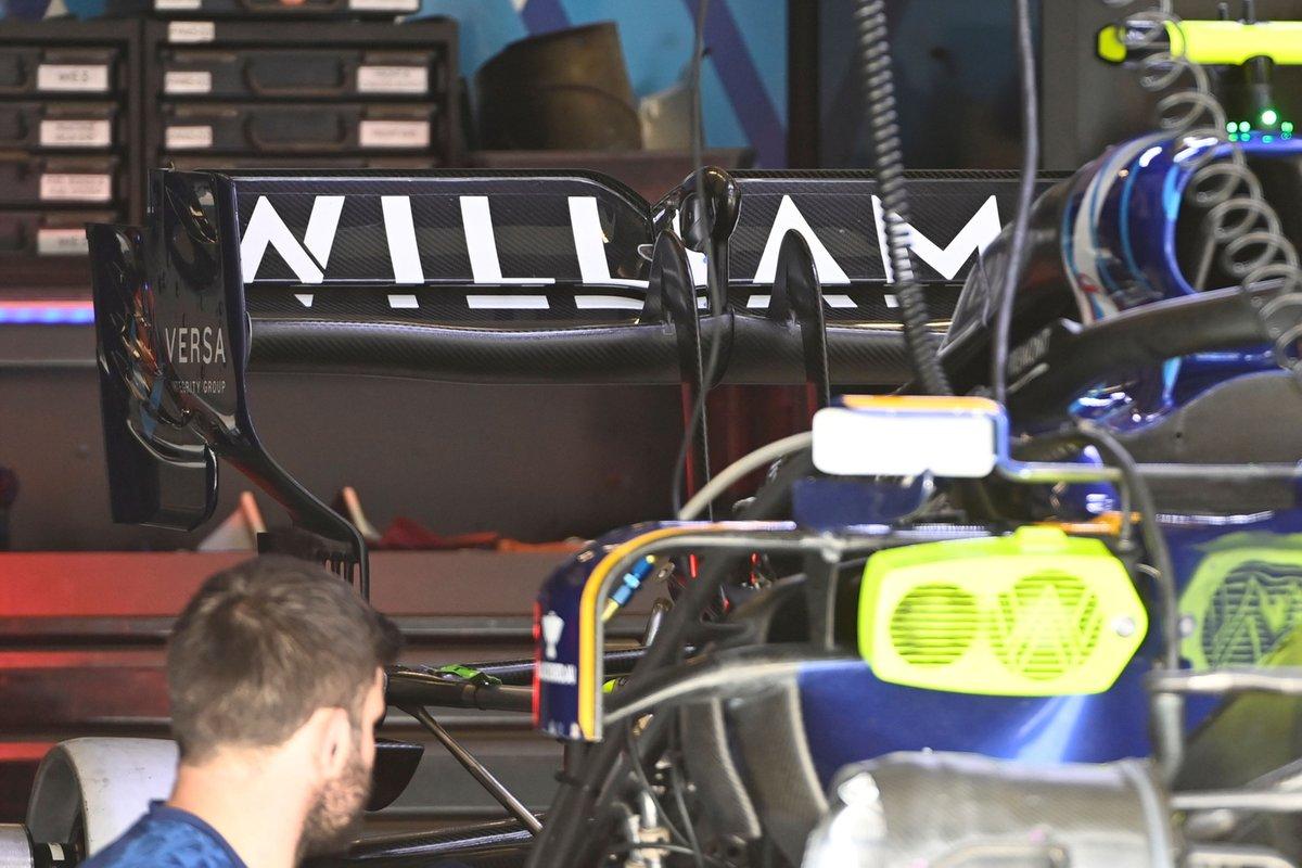 Détail de la Williams FW43B
